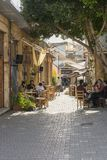 Street in Nicosia city. One of the old  street , Turkish part Nikosia city  Lefkosia . Cyprus . Capital city of Cyprus Stock Image