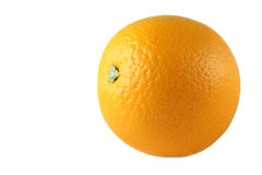 One orange, isolated Stock Photos