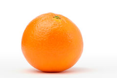 One orange in perfect shape Royalty Free Stock Images
