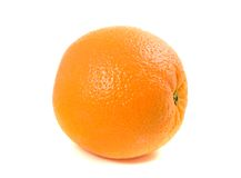 One Ordinary Orange Royalty Free Stock Photo