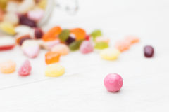 One outstanding candy Stock Images