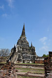 One Pagoda at Wat Phra Sri Sanphet Royalty Free Stock Images