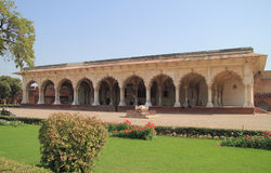 One of palaces in Agra fort Stock Images