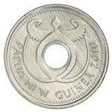 One Papua New Guinean Kina coin Stock Images