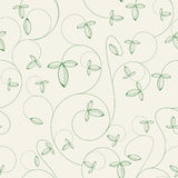 One pattern in floral style Stock Photography