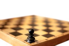 One pawn Royalty Free Stock Photo