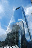 One Penn Center. Penn Center in Philadelphia, PA. Tall building reflecting sky and clouds Stock Photo