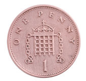 One penny coin Royalty Free Stock Image