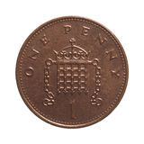 One penny coin Royalty Free Stock Photography