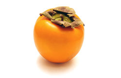 One persimmon Royalty Free Stock Photos