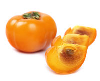One persimmon royalty free stock image