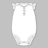 One piece baby bodysuit Royalty Free Stock Photography