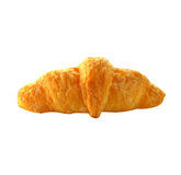 One piece of bread croissant Stock Photography