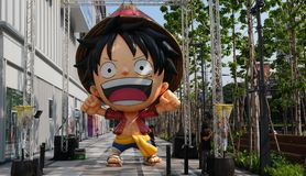 One Piece character Monkey D Luffy