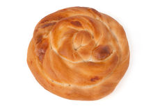 One piece of pastry Stock Images