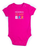 One Piece Pink Baby Onesie Outfit Stock Photography
