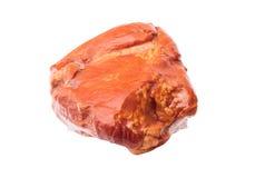 One piece of smoked pork meat Royalty Free Stock Photos