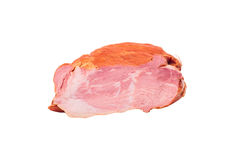 One piece of smoked pork meat Stock Photos
