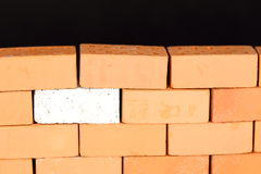 One piece of a wall Royalty Free Stock Image