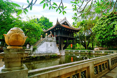 One pilar pagoda in Hanoi, Vietnam Stock Photo