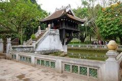 One Pillar Pagoda Stock Photography