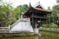 One Pillar Pagoda Stock Image