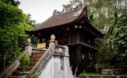 One-pillar pagoda in Hanoi - Vietnam Stock Photography