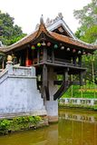 One Pillar Pagoda, Hanoi Vietnam stock photos