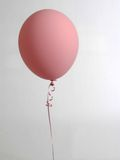 One pink balloon Royalty Free Stock Photos