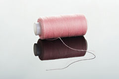 One pink thread Royalty Free Stock Photo
