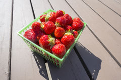 One Pint of Fresh Strawberries #2 Stock Photo
