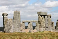 Ancient Stonehenge and Medieval Salisbury. This is one of the planet`s oldest world heritage Sites, Stonehenge which has been a place of pilgrimage for many royalty free stock photos