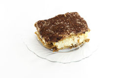 One portion tiramisu Royalty Free Stock Images
