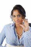 One portrait of glamorous woman Stock Photography