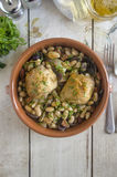 One-pot chicken Royalty Free Stock Image