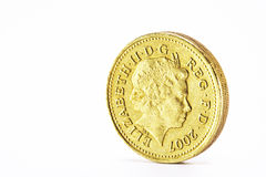 One Pound coin Royalty Free Stock Image