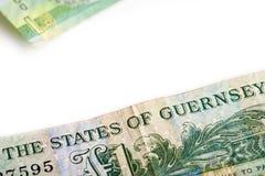 A one pound note Stock Photos