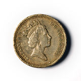 One pound sterling stock images