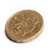 One pound sterling Royalty Free Stock Photos