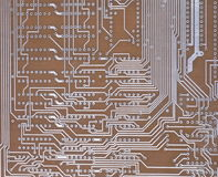 One Printed Circuit Board Royalty Free Stock Photos