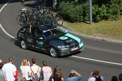 One Pro Cycling Team Stock Photography