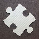 One puzzle piece Stock Photo
