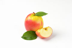 One and quarter apples Royalty Free Stock Photo