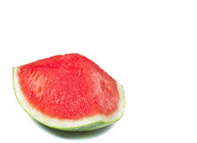One quarter of red watermelon Royalty Free Stock Photos