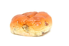 One raising bread: krentenbol Royalty Free Stock Image