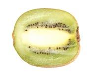 One raw kiwi isolated Stock Photo