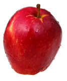 One red delicious apple Stock Photos