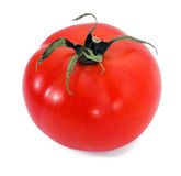 One red fresh tomato Stock Photos