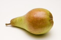 One red-green pear Royalty Free Stock Photos