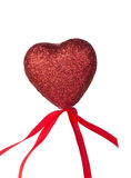 One red hearts Stock Photos